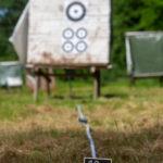 Zielscheibe FLINT Runde
